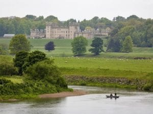 Floors Castle and the River Tweed, Kelso, Scottish Borders