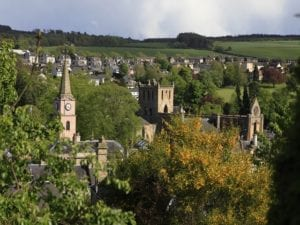 Jedburgh abbey, Scottish borders