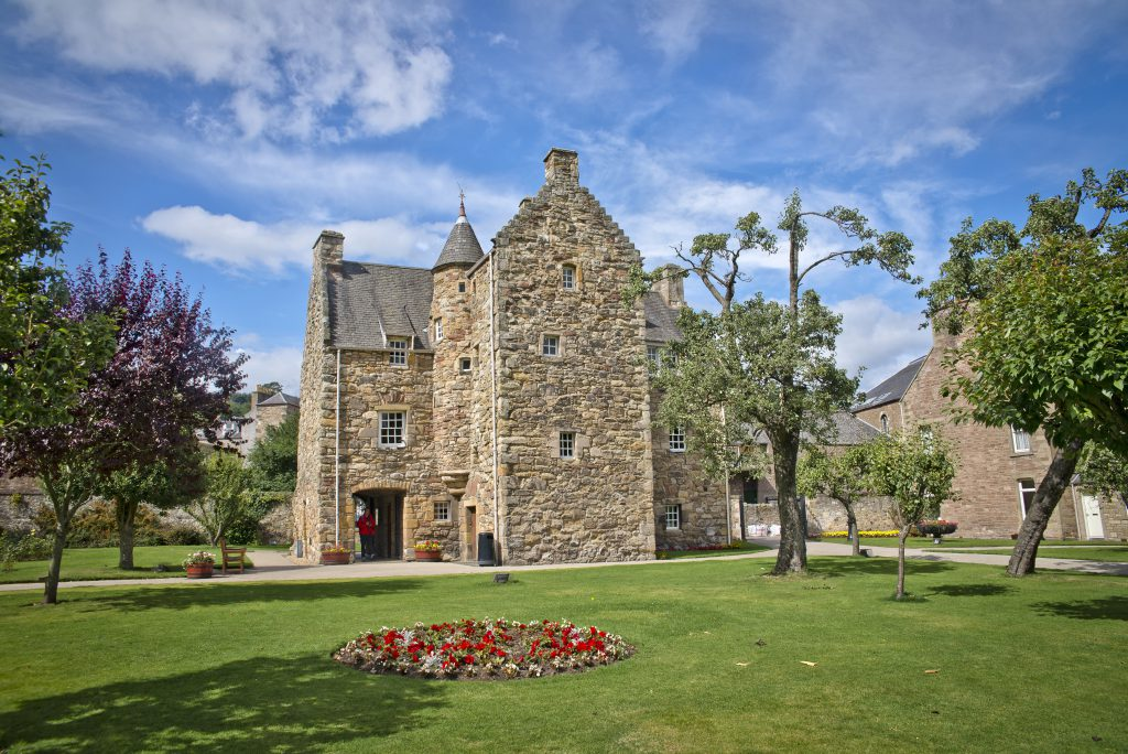 Mary Queen of Scots' House and visitor centre
